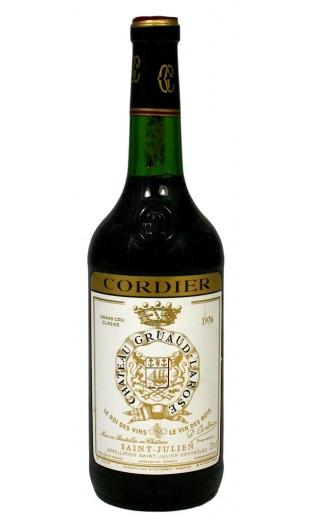Château Gruaud Larose 1976 (CBO 12 bout.)