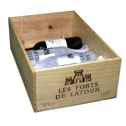 Les Forts de Latour 2002 (CBO 6/12 bout.)