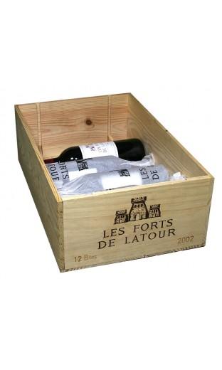 Les Forts de Latour 2002 (CBO 12 bout.)
