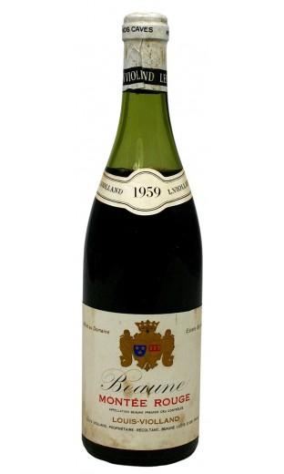 """Beaune """"montée rouge"""" 1959 - domaine Louis Violland"""