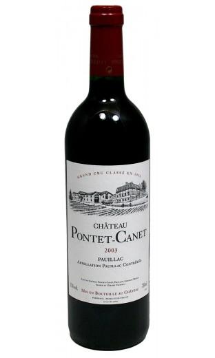 Château Pontet Canet 2003