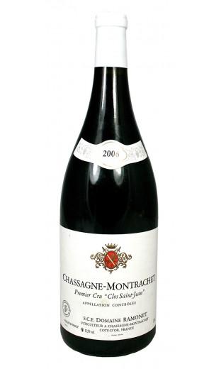 """Chassagne Montrachet """"Clos St Jean"""" 2006 - domaine Ramonet (magnum 1.5 L)"""