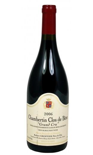 Chambertin Clos-de-Bèze GC 2006 - Domaine Robert Groffier