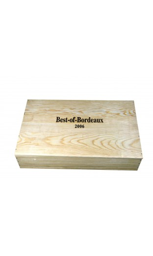 """Caisse de 6 bout. """" Best of bordeaux 2006"""""""