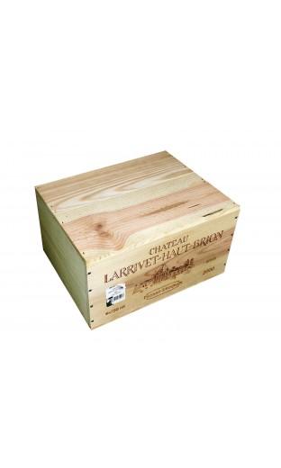 Larrivet Haut Brion 2000 (caisse de 6 bouteilles)