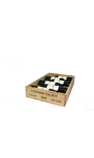 CBO de 6 bout. Château Talbot 2009