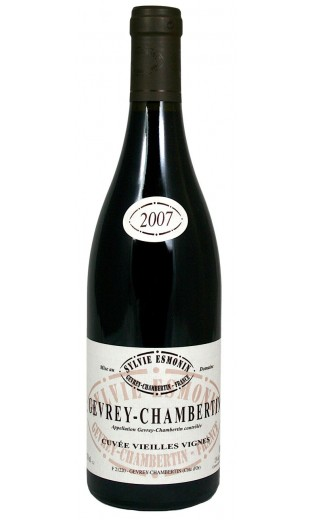 Gevrey-Chambertin Vieilles Vignes 2007 - domaine Sylvie Esmonin