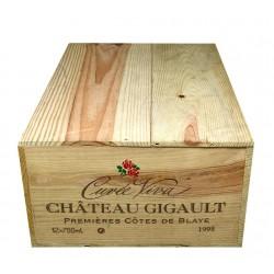 """Château Gigault """"cuvée Viva"""" 1998 (caisse de 12 bout.)"""