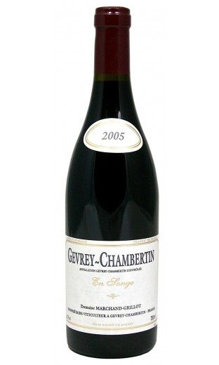 Gevrey-Chambertin en songe 2005 - Domaine Marchand-Grillot