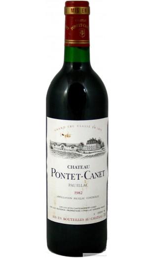 Château Pontet Canet 1982