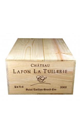 Château Lafon la Tuilerie 2000 (caisse de 12 bout.)