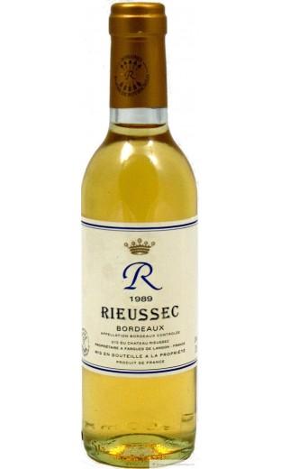 """Château """"R"""" - Rieussec 1989 (0.375 l)"""