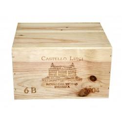 Castello Luigi Rosso del Ticino 2004 - Luigi Zanini (CBO 6 bout.)