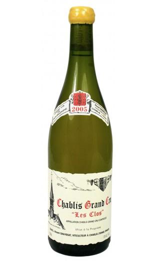 Chablis Grand Cru les Clos 2005 - domaine René et Vincent Dauvissat