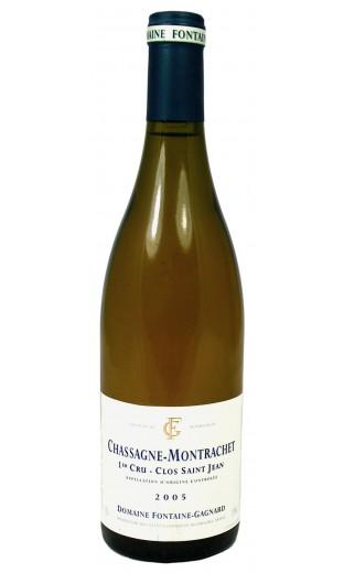 Chassagne-Montrachet 1er Cru Clos Saint-Jean (blanc) 1999 - Domaine Fontaine-Gagnard