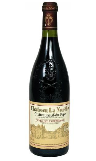 Château La Nerthe Cuvée des Cadettes 1995