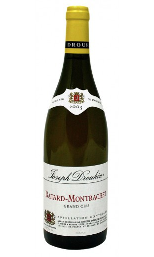 Batard Montrachet GC 2003 - Maison J. Drouhin