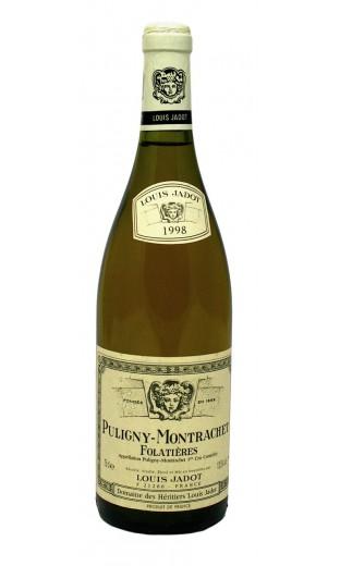 Puligny-Montrachet les Folatieres 1998 - domaine Louis Jadot