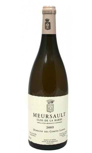 Meursault Clos de la Barre 2005 - domaine Lafon