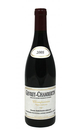 Gevrey-Chambertin Champerrier 2005 - Domaine Marchand-Grillot