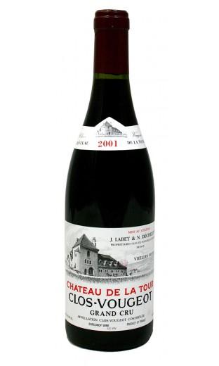 Clos de Vougeot Vieilles Vignes Grand Cru 2001 - Château de la Tour