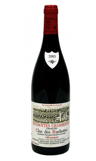 Ruchottes Chambertin 2003 - domaine A. Rousseau