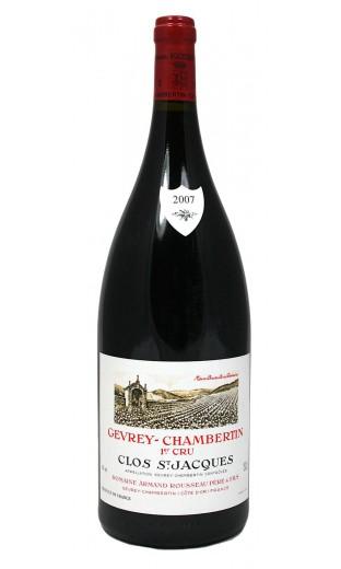 "Gevrey Chambertin 1er cru  ""Clos St Jacques"" 2007 - domaine A. Rousseau (magnum, 1.5 l)"