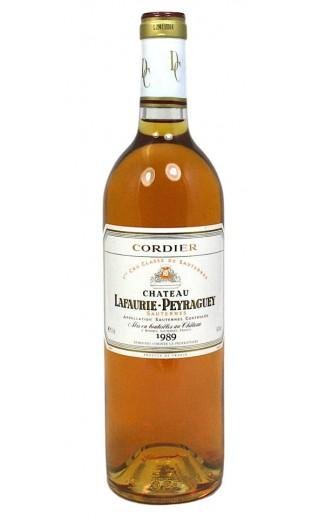 Château Lafaurie Peyraguey 1989