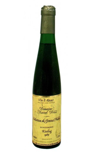 "Riesling SGN 200 oech. ""Quintessence"" 1989 - Marcel Deiss (0.375l)"