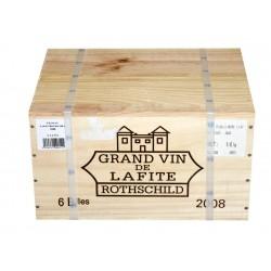 Château Lafite Rothschild 2008 (caisse de 6 bout.)