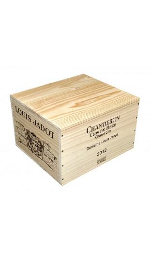 Chambertin Clos de bèze Grand Cru 2012 - domaine Louis Jadot (caisse de 6 bout.)