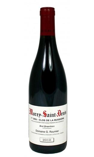"""Morey St Denis 1er cru """"clos de la Bussière"""" 2010 - domaine Georges Roumier"""