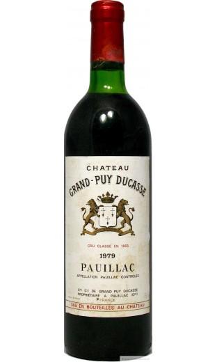 Château Grand Puy Ducasse 1979