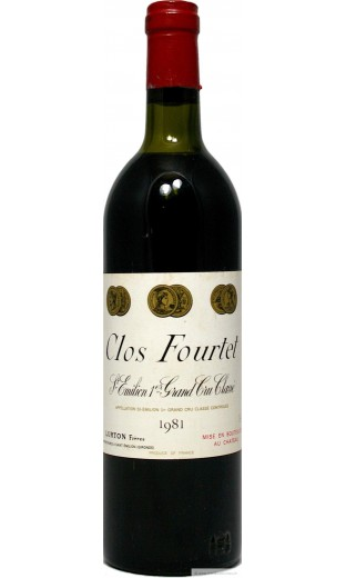 Clos Fourtet 1981