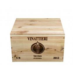 Vinattieri DOC Merlot 2012 - Luigi Zanini (caisse de 6 bout.)