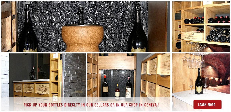 Pick up your bottles shop geneve